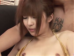 spectacular group action in hardcore for Kotone Aisaki