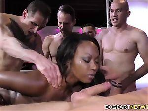 black Skyler Nicole luvs ass fucking fucky-fucky and group sex