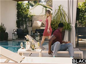 BLACKED Evelyn Claire takes on 2 BBC's