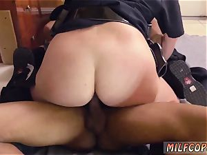 Russian milf ass-fuck and light-haired inexperienced splooge pie ebony male squatting in home gets our