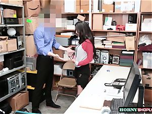 molten Latina Sophia Leone gets her snatch pounded by officers yam-sized trunk so rock hard