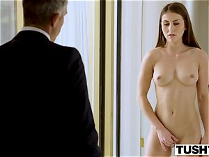 TUSHY assistant Makes Her chief Work For ass-fuck