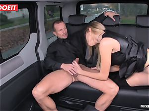 cab Driver shoots a load several Times In beautiful Czech vagina