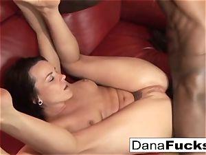 Dana gets bootie pummeled by a yam-sized black boner
