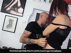 audition ALLA ITALIANA - new-comer anal gape and pummel