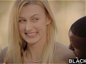 BLACKED Alexa mercy very first interracial 3 way
