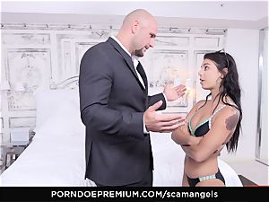 SCAM ANGELS - Karlee Grey blackmail 4 way boink