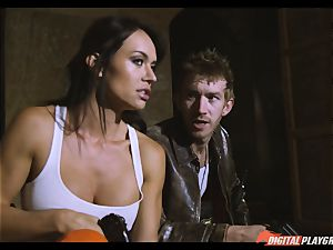 act movie romp episode starring Franceska Jaimes and Lexi Lowe and meaty monster knob Danny D