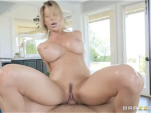 well-lubed and man meat smashing Alexis Fawx