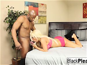huge-titted ash-blonde Jacky fun keeps her glasses on during hump