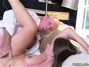 aged mom pulverize youthful lady Ivy impresses with her thick baps and culo