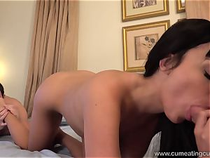 Anissa Has Her husband deep-throat chisel While She humps