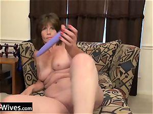USAWiveS Mature Jade ass fucking fucktoy masturbation