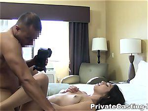intimate Casting-X - slurping plumb and loud orgasm