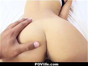 luxurious Latina Gina Valentina point of view pounding