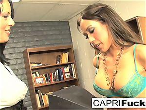 Capri Cavanni and Zoey Holloway plow