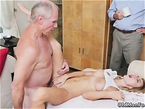 aged blonde mummy porks youthful nymph first time Molly Earns Her Keep