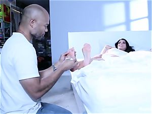 Romi Rains Painting And foot enjoy Behind The episodes