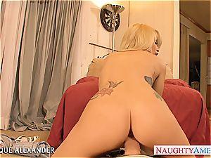torrid pornographic star Monique Alexander boinking