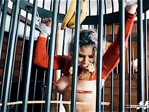 off the hook feet energy - Lesdom torments German soles marionettes