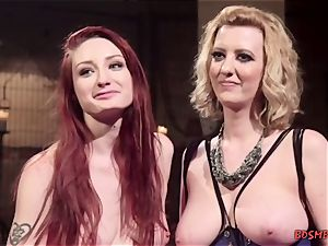sandy-haired lady loves bondage With Her mistress