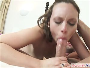youthfull wild lady Jade Nile seduced her best friend's spouse beefy