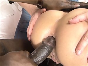 Invited a stranger hotwife trainer to boink blonde wife