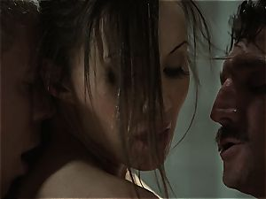 Katsuni bends over for the soap for a reason