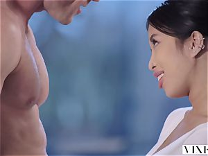 VIXEN young chinese student Has passionate fuck-fest With Neighbor