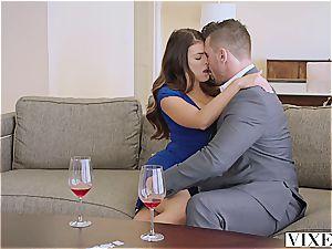 VIXEN Adriana Chechik tears up Her boss