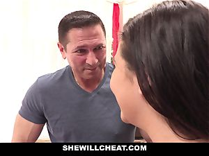 SheWillCheat cuckold girlfriend Karlee Grey porks Trainer