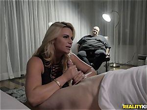 huge-boobed towheaded Phoenix Marie hotwife shag