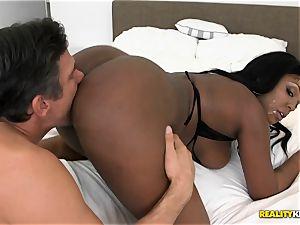 tucking black hottie princess Layton Benton