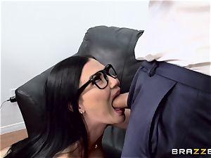 jizz-shotgun gasping british babe Jasmine Jae fucked in her ass