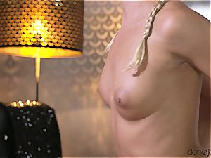 lovely Amy milky takes this bad boy's explosion inside her