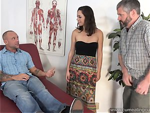 Jade Nile Has Her spouse suck penis and observe Her