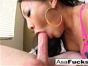 pornstar Asa Is Known For Her sloppy BJs