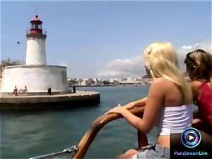 Roxy Jezel and pal want to do it at the boat