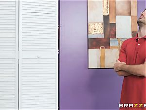 changing room anal invasion boinking activity with Whitney Wright