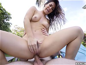 Eva Lovia it humid and railing pecker