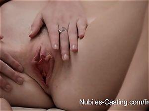 Aspiring pornographic stars get nutted