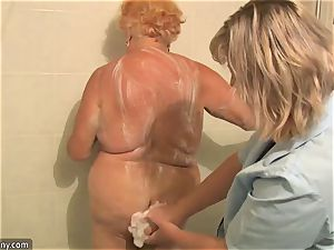OldNanny grandmother plumper act compilation