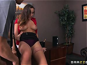 Ashley Adams gets smashed by 2 cops