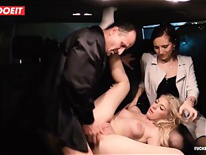 LETSDOEIT - secretary Hooks manager doll With fuckfest In taxi