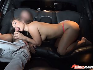 Eva Lovia picks up dudes off the street to drill